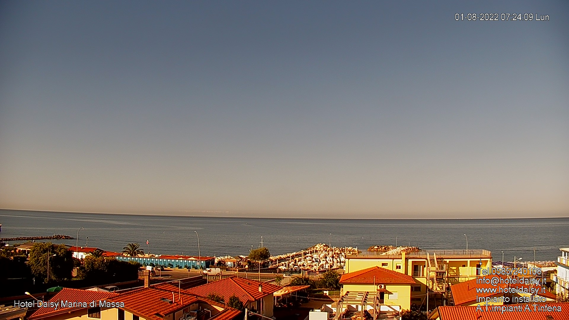 webcam MARINA DI MASSA