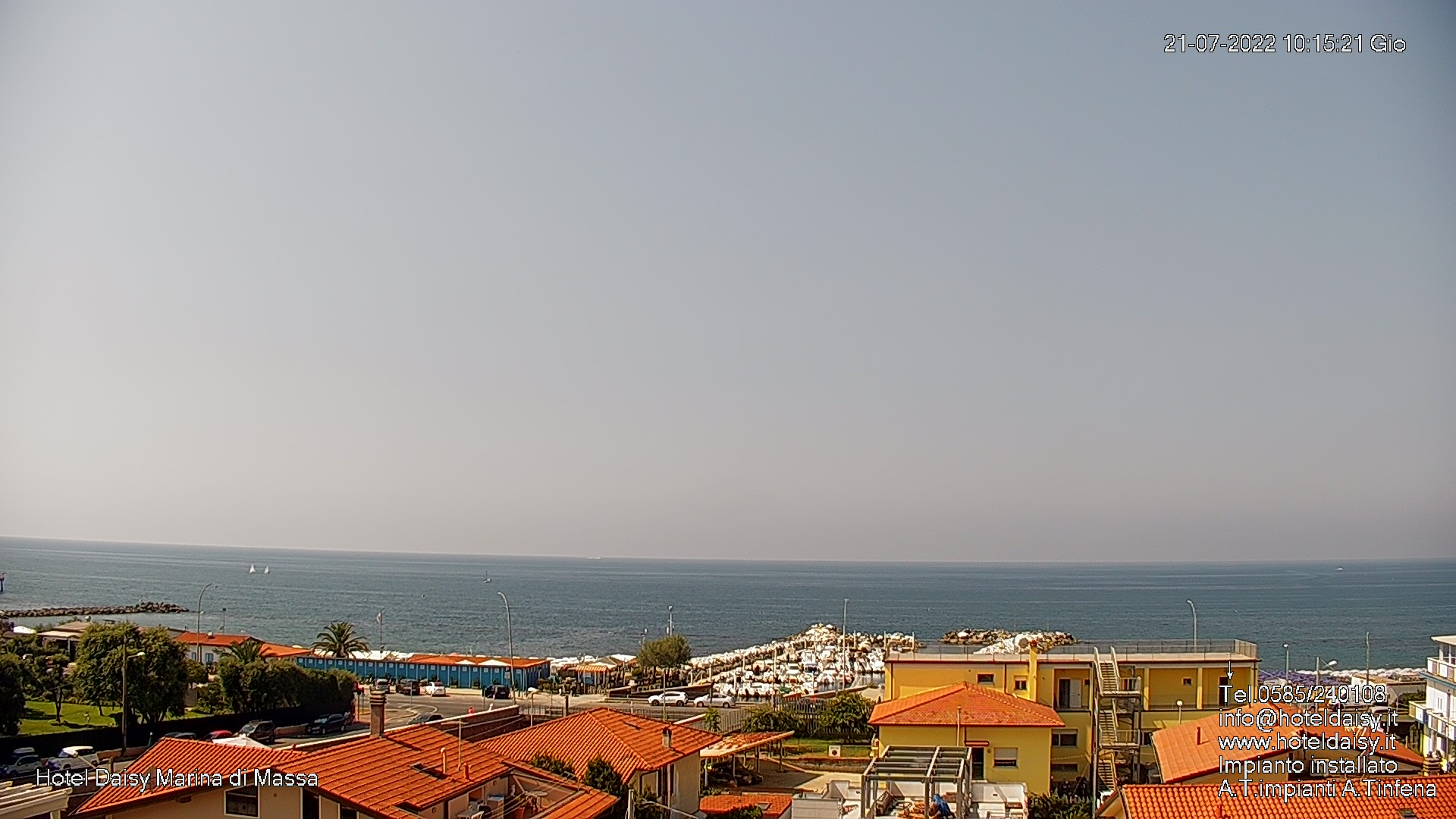 Webcam Marina di Massa (MS)
