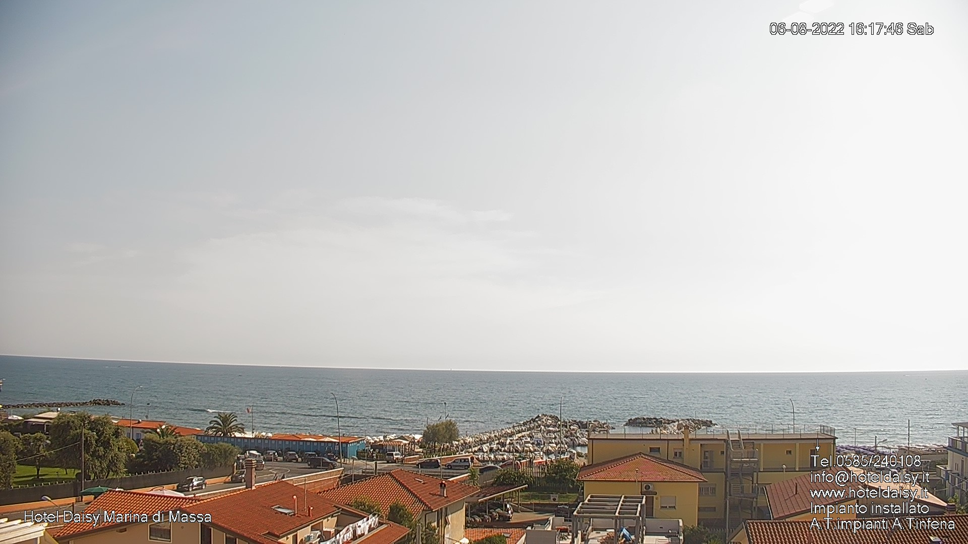 Webcam Marina di Massa (MS)